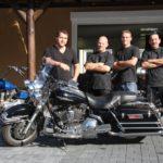 Das Team - von links Tom, Ingo, Olli, Spatze