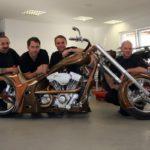 Das Team - von links Spatze, Tom, Olli, Ingo