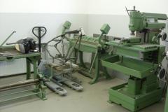 Biegebank & Fräsmaschine