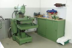 Arbeitsplatz Fräsmaschine
