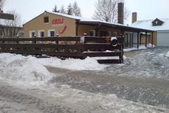 Winter auf der Ranch