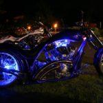 Blue Custom King by Night